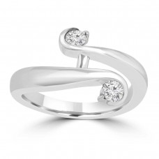 0.26 Ct Round Cut Diamond Anniversary Wedding Band Ring