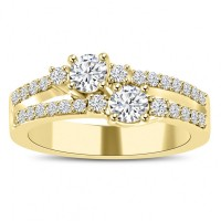 0.75 ct Ladies Round Cut Diamond Anniversary Wedding Band Ring