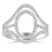 0.75  ct Ladies Brilliant Cut Diamond Anniversary Ring