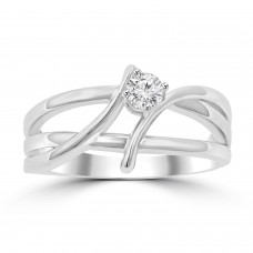 0.25 ct Ladies Brilliant Cut Diamond Anniversary Ring