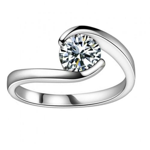 0.75 ct Ladies Round Cut Diamond Anniversary Ring