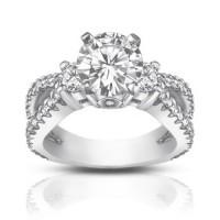 1.75 ct Ladies Round Cut Diamond Engagement Ring