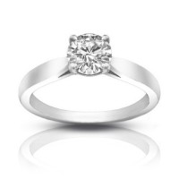 1.25 ct Ladies Round Cut Diamond Solitaire Engagement Ring