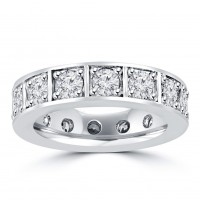 2.00 ct Ladies Brilliant Cut Diamond Eternity Wedding Band