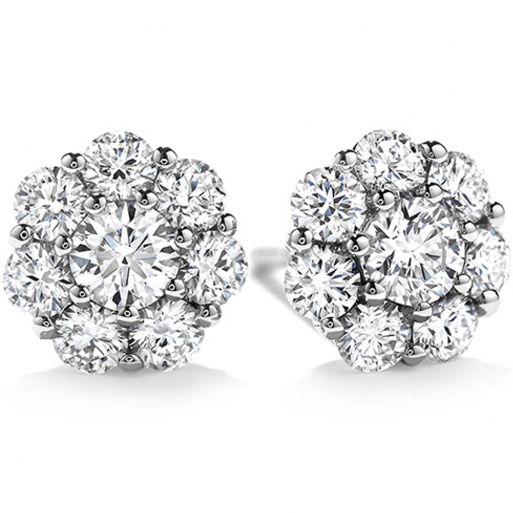 2 00 Ct Ladies Round Cut Diamond Stud Earring In 14 Kt