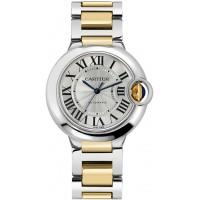 Cartier Ballon Bleu Ladies Gold & Steel Watch W2BB0012