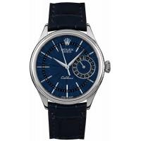 Rolex Cellini Date Blue Dial 39MM Watch