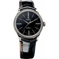 Rolex Cellini Time Black Dial Watch