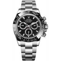 Rolex Cosmograph Daytona Men's Black Dial Watch 116500LN-BLACK