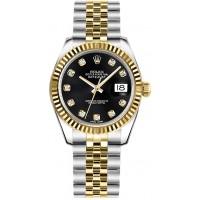 Rolex Datejust 31 178273-BLKDJ