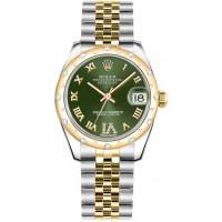 Rolex Datejust 31 Green Dial Watch 178343-GRNRJ