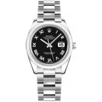Rolex Datejust 31 Black Dial Women's Watch 178240-BLKRO