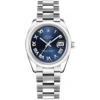 Rolex Datejust 31 Blue Dial Steel Watch 178240-BLURO