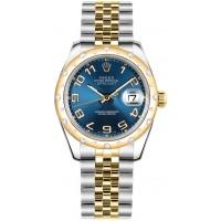 Rolex Datejust 31 Blue Dial Watch 178343-BLUCAJ