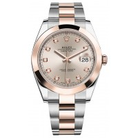Rolex Datejust 41 Men's 18K Rose Gold & Steel Watch 126301-SDTDO