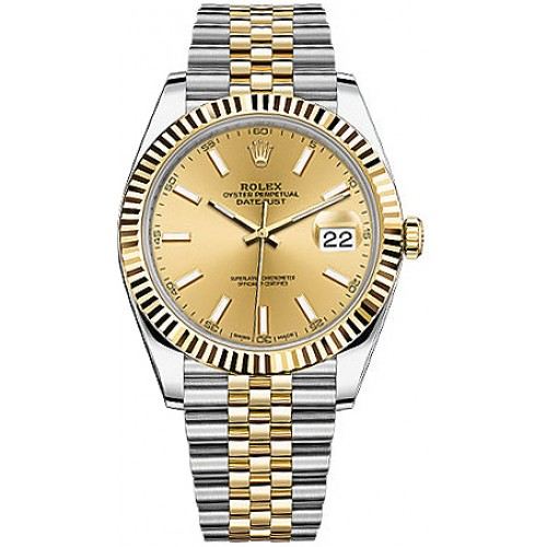 Rolex Datejust 41 Men's Automatic Luxury Watch 126333-GLDSJ