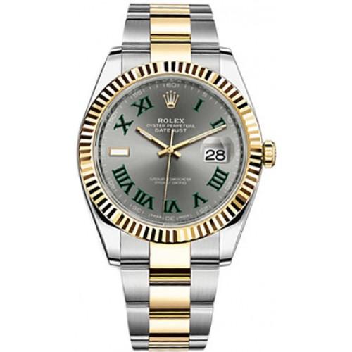 Rolex Datejust 41 Fluted Bezel Men's Watch 126333-SLTRO