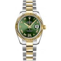 Rolex Datejust 31 Green Dial Women's Watch 178273-GRNRO