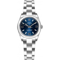 Rolex Oyster Perpetual 26 Blue Dial Watch 176200-BLUSAO