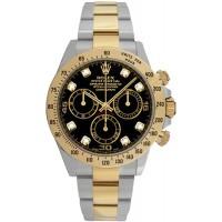 Rolex Cosmograph Daytona Diamond Dial Men's Watch 116523-BLKD