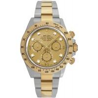 Rolex Cosmograph Daytona Champagne Diamond Dial Watch 116523-GLDD