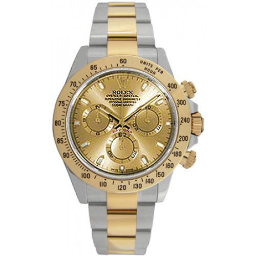 Rolex Cosmograph Daytona Champagne Dial Men's Watch 116523-GLDS