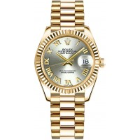 Rolex Datejust 31 Automatic Solid 18K Yellow Gold Watch 178278-STLRP