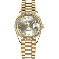 Rolex Datejust 31 Automatic Solid 18K Yellow Gold Watch 178288-STLRP