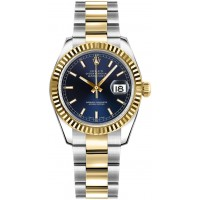 Rolex Datejust 31 Blue Dial Oyster Bracelet Watch 178273-BLUSO