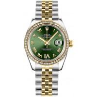 Rolex Datejust 31 Green Dial Women's Watch 178383-OGRNRDRJ