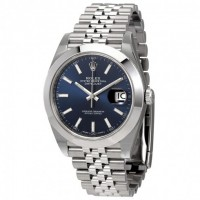 Datejust 41 Blue Dial Automatic Men's Watch