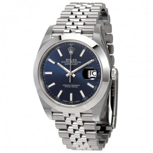 Datejust 41 Blue Dial Automatic Men's Watch