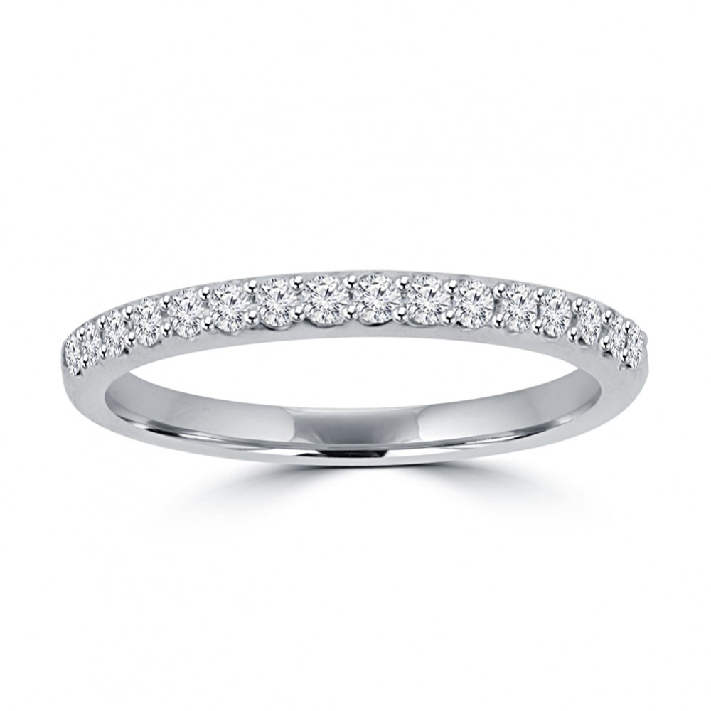 ct ladies round cut diamond wedding band in 14 kt. Black Bedroom Furniture Sets. Home Design Ideas