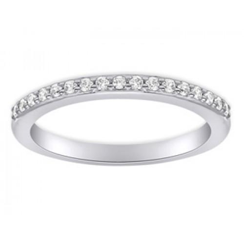0.40 ct Ladies Round Cut Diamond Wedding Band Ring