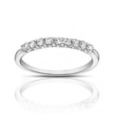 0.40 ct Ladies Round Cut Diamond Wedding Band Ring