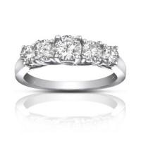 1.75 ct Ladies Round Cut Diamond Wedding Band Ring