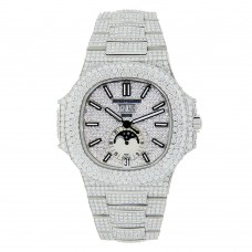 Patek Philippe Nautilus - Iced Out With Diamonds