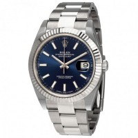 Oyster Perpetual Datejust 41 Blue Dial Automatic Men's Watch