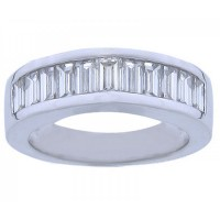 2.00 ct Baguette Cut Diamond Wedding Band Ring